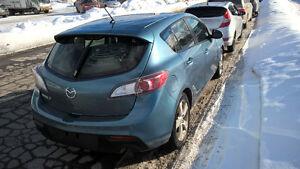 2010 Mazda Mazda3 Hatchback Manual Transmission
