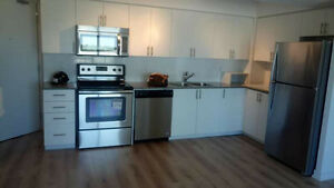 Spacious 2bed 2 bath Condo Unit With Parking For Rent