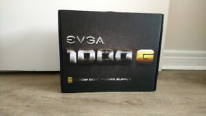 EVGA 1000 Gold Power Supply Used - Like New