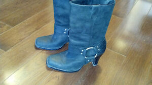 Harley Davidson womens leather boots