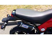 Honda Msx-125 tyga exhouse system