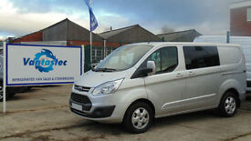Ford Transit Custom 2.0TDCi 130PS DCIV 290 L1 H1 with Polyshield