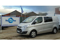 Ford Transit Custom Van 2.0TDCi 130PS DCIV 290 L1 H1 with Polyshield