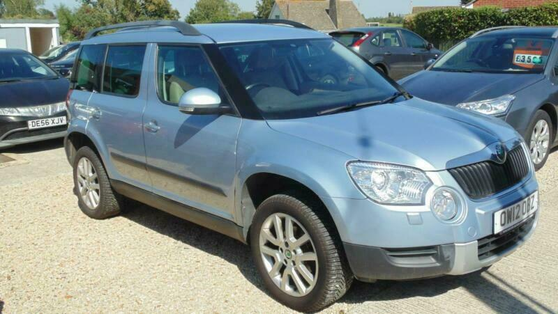 2012 Skoda Yeti 1 2 Tsi Elegance 5dr Estate Petrol Manual In