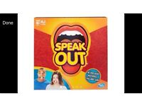 SPEAK OUT ****THE MUST HAVE GAME OF 2016**** HASBRO ****SPEAK OUT**** BRAND NEW SEALED