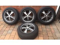 FOUR AUDI Q5 WHEELS & TYRES NOKIAN (MUST SEE)