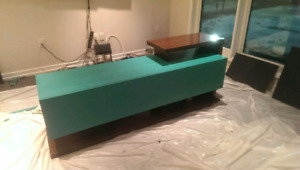 Chalk Painted TV Stand