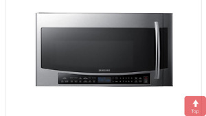Samsung 1.7 cu.ft. over-the-range microwave oven