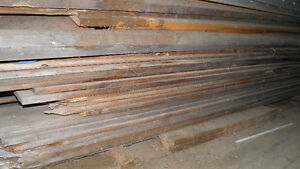 Hand hewn vintage barn boards and beams in excellent condition