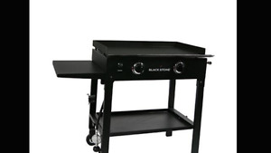 "Brand new black stone 28"" griddle station"