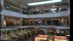 Retail unit,business unit,commercial space for lease in the mall
