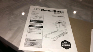 Treadmill Nordic Track C600 gently used