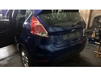 ford fiesta 2010 to 2015 5 door rear bumper complete