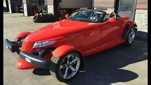 Plymouth Prowler 2000 rouge