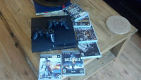 Playstation 3 (120GB) and 2 remotes