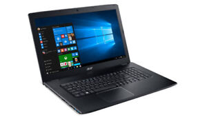 Gaming Laptop, 17 inch large screen with great specs Acer Aspire