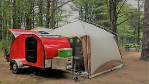 Mini Roulotte Teardrop trailer 5x8