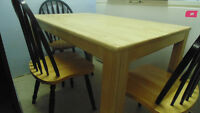 3 chair & table set - Used