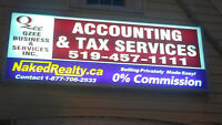 Accounting Office for Partnership or Sale-London, Ontario