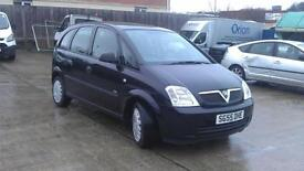 Vauxhall Meriva 1.4i 16v Life 5 DOOR - 2005 55-REG - FULL 12 MONTHS MOT