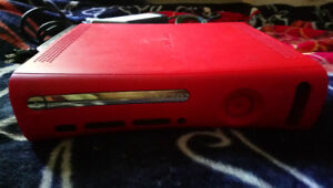 Xbox 360 Red Console (No Controllers)