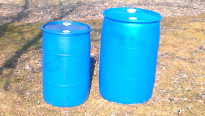baril 55 gallons et 30 gallons