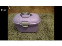 Purple Baby Bath Box