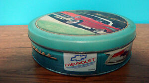 1957 Chevy Bel Air Collectible Cookie Tin
