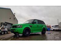 Range Rowe Sport HSE 2.7L V6 56
