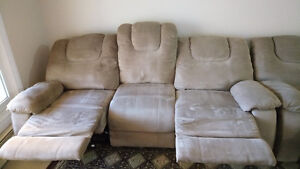 Recliners with cover