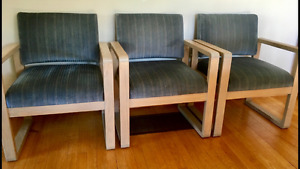3 Matching Chairs