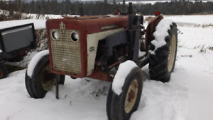 tracteur inter 434   international