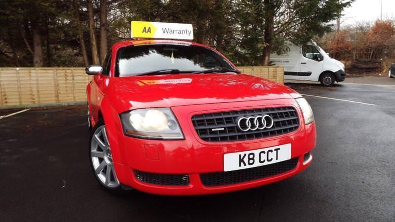 Audi Tt 18 Quattro Turbo Coupe 6 Speed K8 Cct Glasgow Scotland