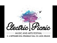 Two tickets for Electric Picnic 2016 £300