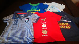 Lot boy clothing size 12-18 months