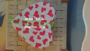 Gift Metal Box - Gift Box - Heart Shaped Metal Gift Box West Island Greater Montréal image 6