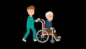 Certified male Continuing Care Assistant for hire.