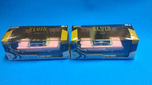 Greenlight 1:43 Pink Elvis 1955 Cadillac Fleetwood Series 60