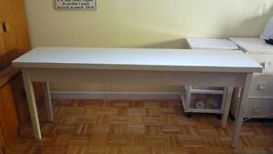 Table console en bois bois massif