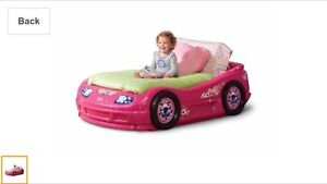 Looking to buy - pink car toddler bed St. John's Newfoundland image 2