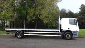 2010 Euro 5 DAF CF65.220 18T Flatbed Truck