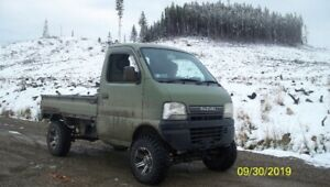 02 Suzuki Carry Mini Truck 4x4 , 7 inch lift  * price reduced*