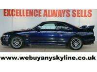 Nissan Skyline 2.6 GTR R33 TWIN TURBO+RARE COLOUR+STOCK UNMODIFIED+UNMOLESTED!!
