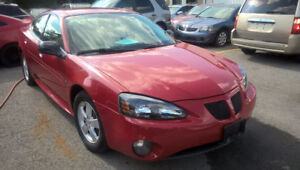 2008 Pontiac Grand Prix 193K Automatic Financement $1500 down