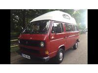 VW camper van t25 4 birth long mot