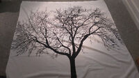 Tree Design Shower Curtain - $15 OBO