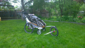 Chariot (Thule) Stroller, Jogger and bike Carrier