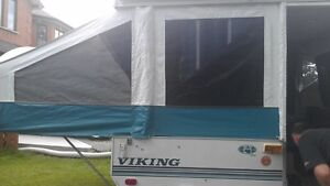 VIKING TENT TRAILER FOR SALE JUST IN TIME FOR SUMMER