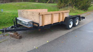 SOLD Pending pick up Friday -16' Trailer Tand 5200LB axl