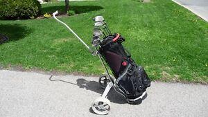Équipement de golf pour homme gaucher